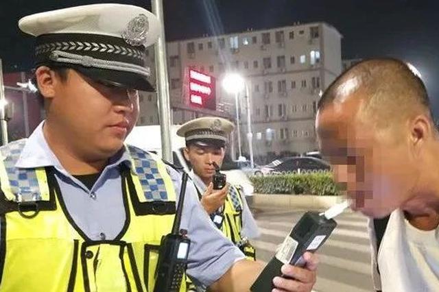 """曝光!南宁交警通宵严查酒驾醉驾 又""""逮""""到80人"""