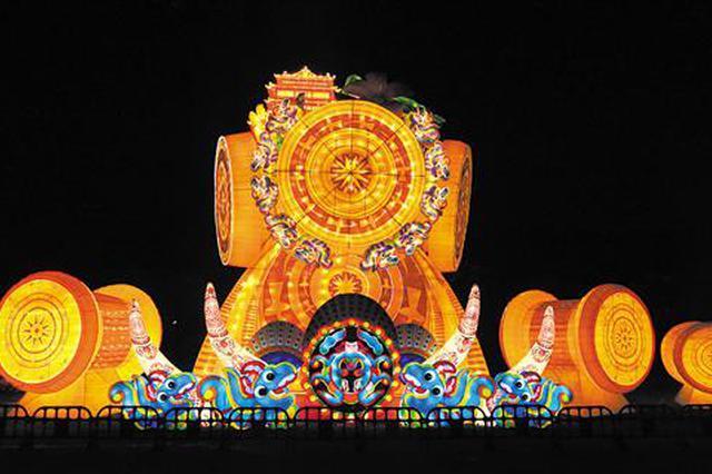 震撼!青秀山大型灯展9月6日开幕 陪你过中秋国庆