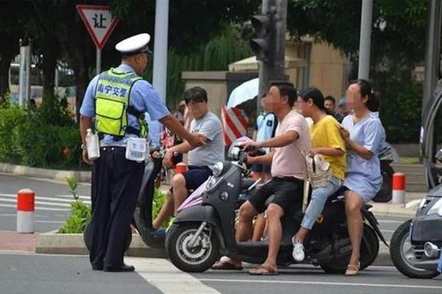 南宁交警又有大动作!近期重点整治各类交通违法行为