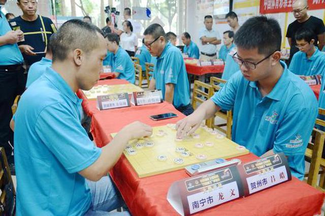 中国体育彩票全国象棋民间棋王争霸赛广西区圆满落幕