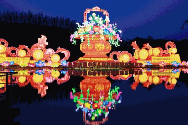 精彩继续!@所有人 南宁青秀山灯展延期至10月31日