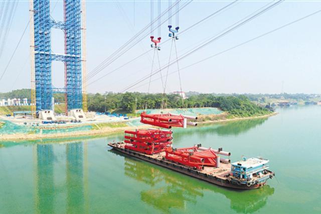 """明年通车!""""世界第一拱""""平南三桥最新进度来了"""