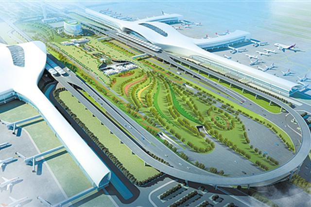 南宁国际空港综合交通枢纽主体动工 2022年12月投用