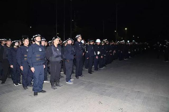 300警力出动 南宁19名暴力妨害公务嫌疑人一夜落网