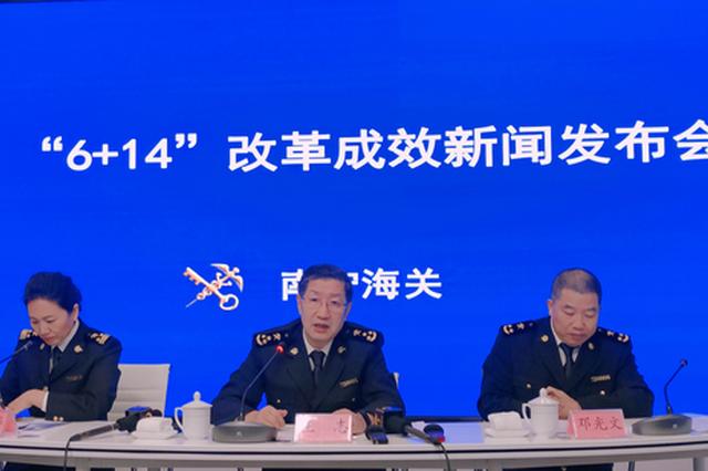 """南宁海关""""6+14""""改革显成效 友谊关货物放行仅十分钟"""