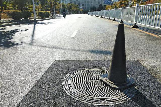 南宁37条道路1100个井盖换新装 12月底前更换完毕