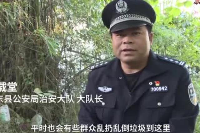 广西百色一钓友在河边发现20公斤炮弹 来源待查