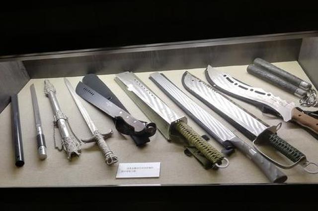 春运7天5人被拘 南宁铁路警方提醒:勿携带管制刀具