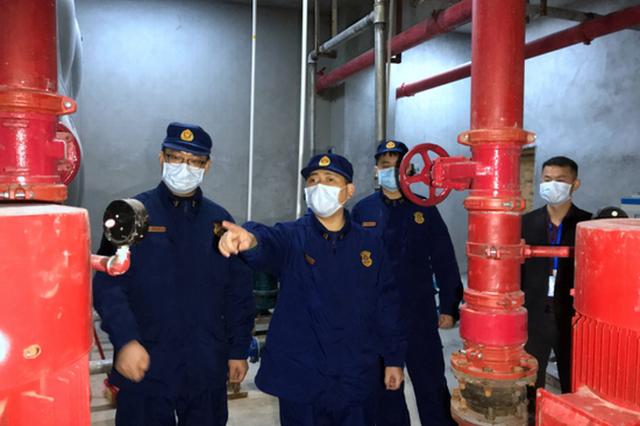 南宁消防对返厂复工企业进行消防安全上门指导