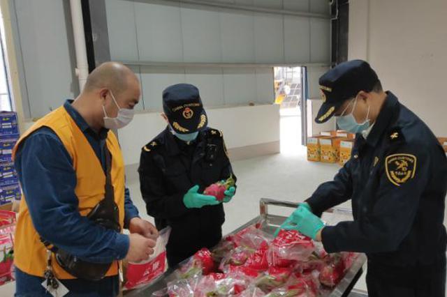 凭祥铁路口岸正式验收通过 中国首班进境水果专列入境