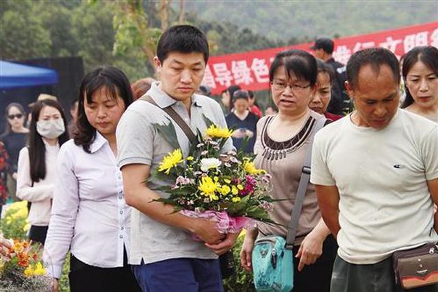 注意!广西公益花坛葬4月1日起开始报名 安葬费全免