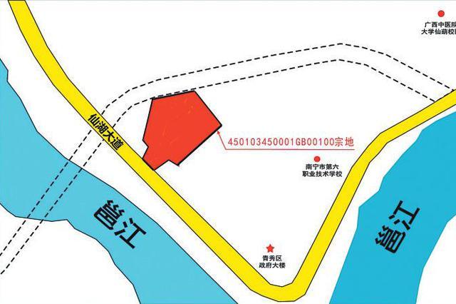仙葫大道百亩江景地块挂牌出让 须配建一所6班幼儿园