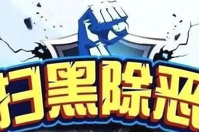 """至2019年底南宁打掉75个涉黑恶团伙 """"打财断血""""16亿"""