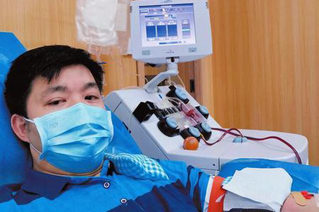 南宁献血达人献血超7万毫升 涓涓热血汇成爱的暖流