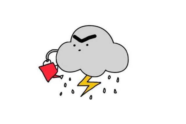 前一秒蓝天白云 后一秒狂风暴雨!南宁仍是多云+阵雨