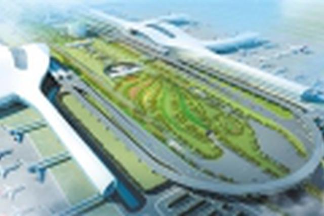 南宁国际空港综合交通枢纽(GTC)进入施工高峰