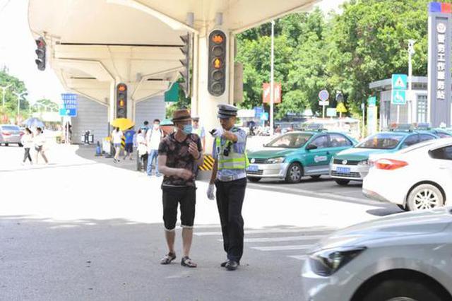 @南宁市民,行人过街不走斑马线、闯红灯 统统要罚