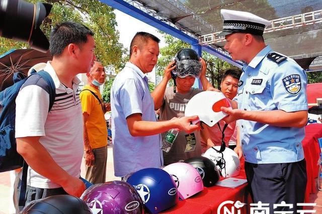 南宁:下月起,骑绿牌电单车不戴头盔罚20元