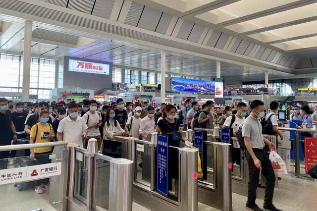 2020年广西铁路暑运圆满收官 累计发送1765万人次