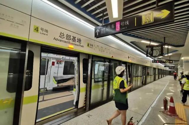 扩散周知!国庆、中秋节南宁地铁延长运营服务时间