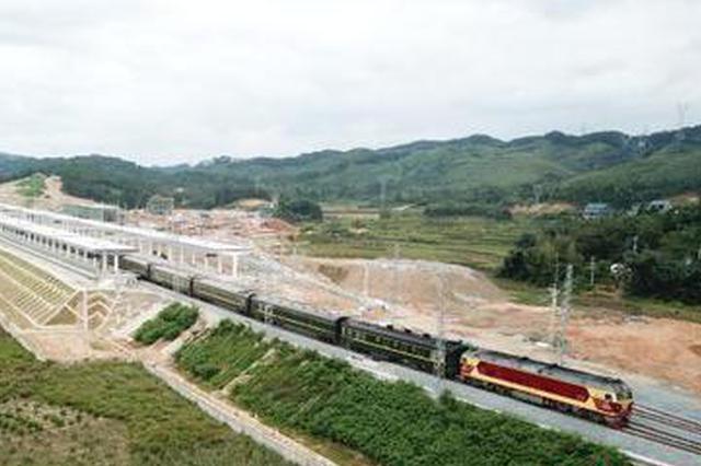 焦柳铁路广西段步入电气时代 全线年底将实现电气化开通