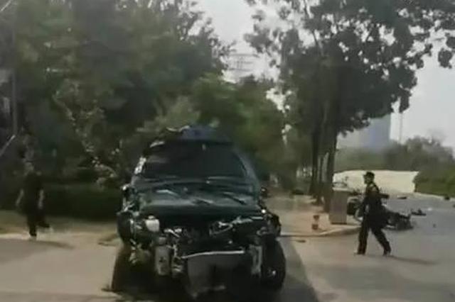突发!南宁白沙大道发生严重车祸 已致4人遇难6人送医