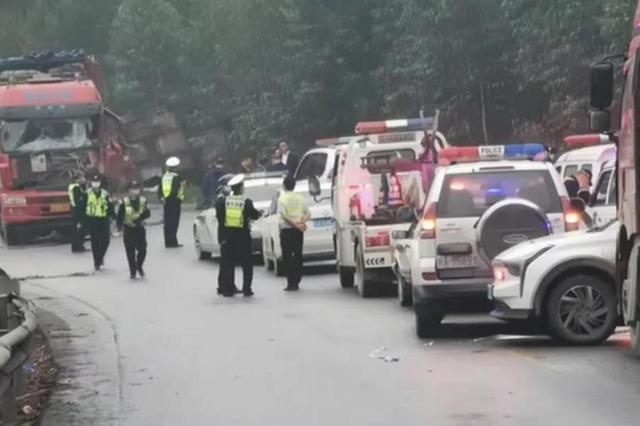 南宁两货车相撞致3人死亡11人受伤!交警发布情况通报