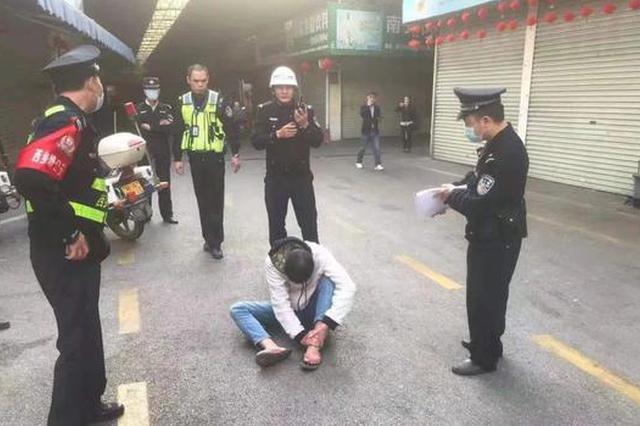 刑拘!南宁一男子醉驾电动自行车闯红灯 还暴力抗法