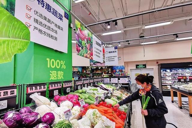 """南宁""""菜篮子""""市场供应充足品种丰富 价格保持稳定"""