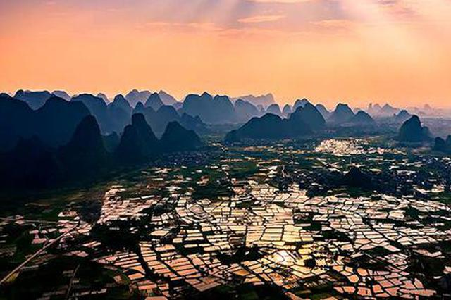桂林临桂区有个美得发光的玻璃田