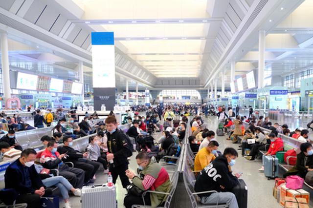 清明节假期首日广西铁路发送人数创今年新高!多站破纪录