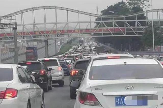 堵成停车场!@南宁车友:别走壮锦大道往机场高速