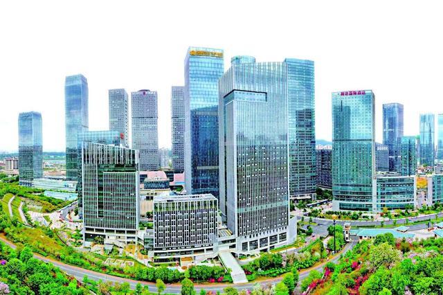 南宁摩天大楼数量居全国前十 楼宇经济高质量发展引关注