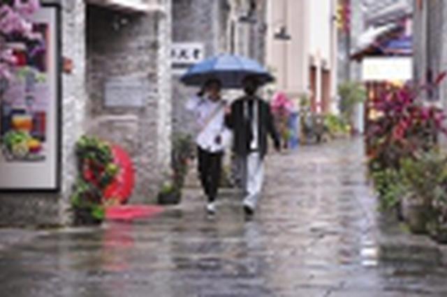 """未来两天广西各地天气""""变脸"""" 一大波降雨尾随而至"""