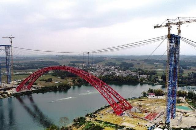 吴隆高速沙吴高速建设实现突破 去吴圩机场再添5条高速