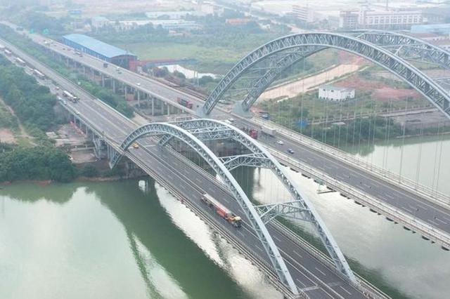 沙吴高速预计今年建成通车 预制标箱梁运输工作收官