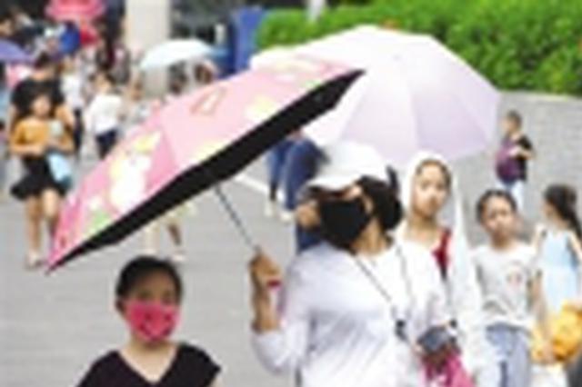 """未来几天广西大部地区开启""""高温+短时雷雨""""模式"""