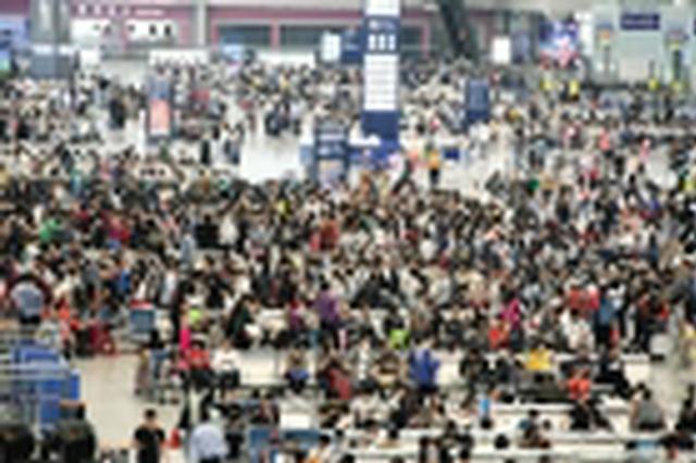 中秋假期南宁车站客流高峰或于18日下午至19日出现