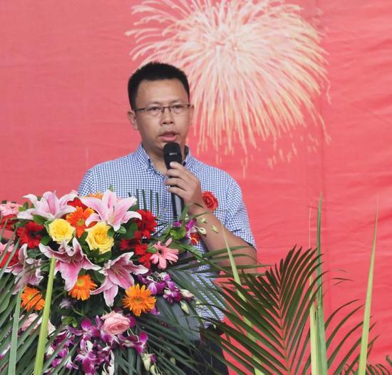 联邦家居华南区域拓展总监潘志宏先生致辞
