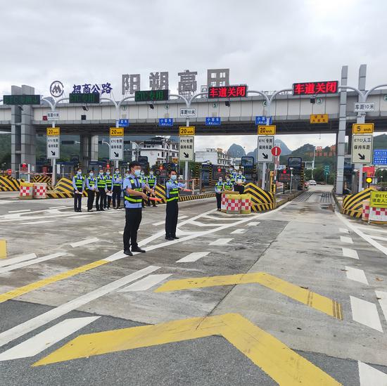 国庆假期广西高速公路基本畅行