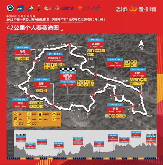 42公里个人赛赛道图