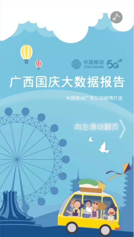 广西移动《国庆大数据报告》正式出炉(图)