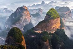 除了阳朔 桂林这些地方山水甲天下