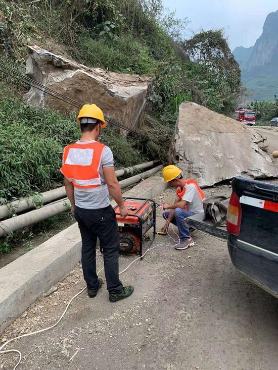 广西联通全力做好百色地震应急通