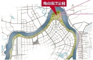 邕江综合整治和开发利用工程B标工程下游段项目规划图