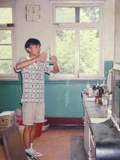 崔屹在中国科技大学读书时的照片。受访者供图