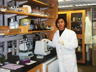 崔屹在哈佛大学读博时的照片。受访者供图