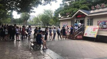 柳州市民排长龙为文昌桥惨案伤者献血