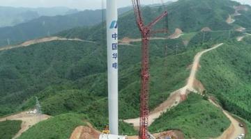广西山区风力发电站安装 缓解电力紧缺