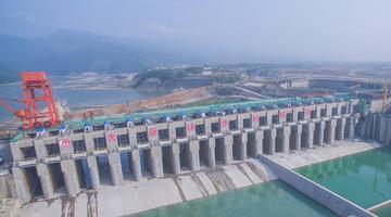 广西大藤峡水利枢纽:人字闸门世界最高